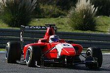 GP3 - Acht rote Flaggen: Kvyat Schnellster bei Tests in Estoril