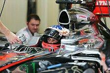Formel 1 - Viel steckt nicht mehr im Auto: Paffett �ber McLaren: Schon ziemlich schlecht