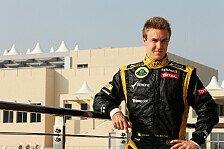 Formel 1 - Sehe mich in der Favoritenrolle: Valsecchi: In Pole Position als Grosjean-Ersatz