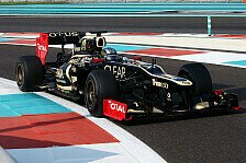 Formel 1 - Probleme bei Red Bull: Abu Dhabi: Lotus-Youngster setzt sich durch