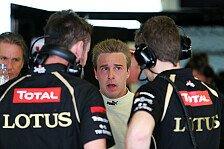Formel 1 - Der n�chste Schritt auf der Karriereleiter: Davide Valsecchi