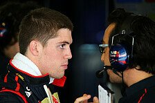 Formel 1 - Mit Fieber unterwegs: Luiz Razia