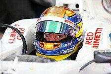 Formel 1 - H�lkenberg als Referenz: Gutierrez dankt Familie und Sponsoren