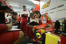 MotoGP - Rossi beschreibt Ducati-Verhältnis