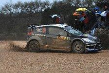 WRC - Mischbereifung am Vormittag: T�nak weiterhin gut unterwegs
