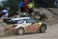 WRC - Loeb in guter Ausgangsposition: Schadensbegrenzung bei Citroen