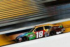 NASCAR - Jimmie Johnson startet nur von Rang 24 : Kyle Busch in Rekordzeit auf Pole