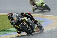 MotoGP - Bradl und die Ducatis vorne dran: Regen bringt Dovizioso Warm-Up-Bestzeit