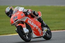 Moto3 - Cortese f�hrt in Reihe zwei: Moto3-Pole f�r Folger in Valencia