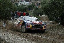 WRC - �stberg rutscht von der Strecke: Loeb �bernimmt F�hrung