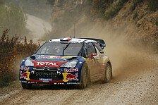 WRC - Saison stilgerecht beenden: Citroen vor Finaltag ohne Sorgen