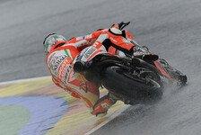 MotoGP - Spanisches Wetter beendet die Saison fr�h: Letzter Testtag 2012 f�llt ins Wasser