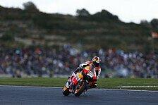 MotoGP - Sturzflug von Lorenzo, Podest f�r Nakasuga: Pedrosa gewinnt Chaosrennen in Valencia