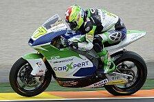 Moto2 - Test lief nicht nach Plan: Dominique Aegerter