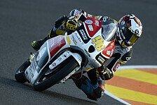 Moto3 - Finsterbusch �ber Sturz entt�uscht: Rossi: Keine Zeit f�r Podestkampf