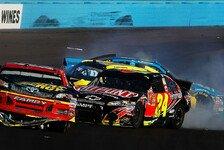 NASCAR - Kyle Busch dominiert und Kevin Harvick gewinnt: Dramen und fliegende F�uste in Phoenix