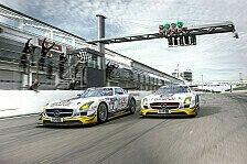 Mehr Motorsport - SLS AMG GT3: Neun Titel und 43 Siege: Erfolgreiche Saison 2012 f�r AMG Kundensport