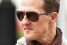 Formel 1 - Aus dem Krankenhaus verwiesen : Eindringling: Als Priester getarnt zu Schumacher