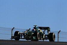 Formel 1 - Verkehr & kalte Reifen: Caterham: Ratlos hinter Marussia
