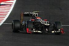 Formel 1 - Neuer Frontfl�gel in der Pipeline: Lotus h�lt an Updates fest
