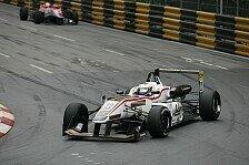 Mehr Motorsport - Gute Ausgangsposition f�r M�cke Motorsport: Macau - Rosenqvist auf Startplatz zwei