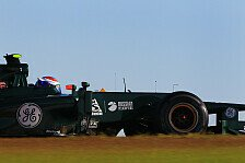 Formel 1 - Nur die erste Kurve war verr�ckt: Caterham: Eint�nige Premiere in Texas