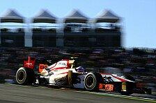 Formel 1 - P�rez-Sala lobt Zusammenhalt im Team: HRT: De la Rosa fuhr mit gebrochenem Sitz