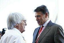 Formel 1 - N�chstes Jahr noch mehr Zuschauer: Austin hat Ecclestones Erwartungen �bertroffen