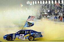 NASCAR - Jeff Gordon gewinnt Saisonfinale: Brad Keselowski ist neuer Champion