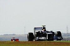 Formel 1 - Hei�e Strecke hat es schwer gemacht: Bruno Senna