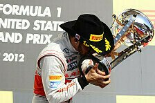 Formel 1 - Bilder: US GP - Podium