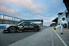 DTM - Rosberg und Ag�ero im DTM-Renntaxi