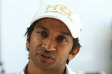 Formel 1 - Da kommt nichts ran: Karthikeyan trauert Formel 1 hinterher