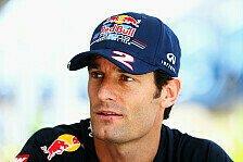 Formel 1 - Man muss ehrlich zu sich selbst sein: Webber: Noch keine R�cktrittsgedanken