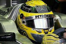 Formel 1 - Kaum Ver�nderungen durch Auspuffwechsel: Rosberg: Optimismus nach dem Training