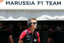 Formel 1 - Chilton f�hrt die ersten Runden: Marussia pr�sentiert am Dienstag