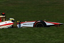 Formel 1 - Nur wenige Runden trainiert: De la Rosa: Unglaublich spa�ige Strecke