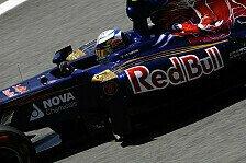 Formel 1 - Keine Chance bei Hitze: Toro Rosso: Hoffnung auf Regen