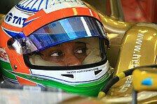 Formel 1 - Auf dem Sprung zu den IndyCars: Narain Karthikeyan