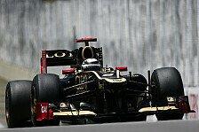 Formel 1 - �berraschung des Jahres: Saisonr�ckblick 2012: Lotus