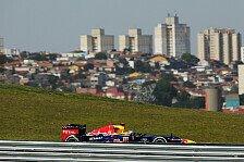 Formel 1 - Zum Abschied ein lautes Servus: Brasilien: Das freie Training im Live-Ticker