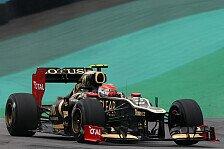 Formel 1 - Nicht Siege, sondern Meisterschaft das Ziel: Grosjean: Neuer Lotus schon Ende Januar
