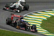Formel 1 - Aufholjagd im Rennen geplant: Toro Rosso: Zu wenig Regen