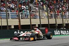 Formel 1 - Von ganz hinten nach ganz hinten: Getriebewechsel bei De la Rosa