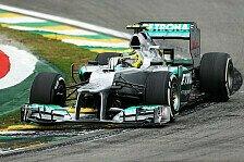 Formel 1 - Kein vers�hnlicher Abschluss: Rosberg: Keine Chance nach Reifenschaden