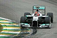 Formel 1 - Gr��e an den Rekordchampion: Video - Abschied von Michael Schumacher