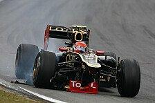 Formel 1 - Letze Startreihe droht: Grosjean: Schon wieder Getriebewechsel?