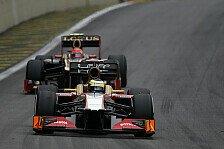 Formel 1 - Keine �berraschung gelungen: HRT-Fahrer feiern Zielankunft