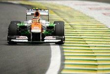 Formel 1 - H�lkenberg noch im Rennen: Force India: Fahrerentscheidung zieht sich hin