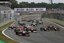 Formel 1 - In den S�den des Landes: Sao Paulo vor dem Aus: Zieht der Brasilien GP um?